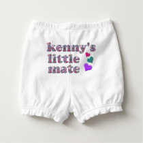 Kenny's Mate Patchwork Pattern Diaper Cover