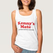 Kenny's Mate Polka Dot Pattern Tank