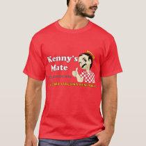 Kenny's Mate Red Tee-Shirt T-Shirt