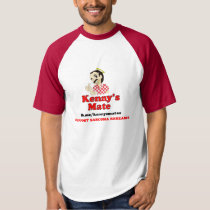 Kenny's Mate Sarcoma Research Support Baseball Tee