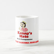 Kenny's Mate Sarcoma Research Support Coffee Mug