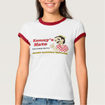 Kenny's Mate Sarcoma Research Support Ladies T-Shirt