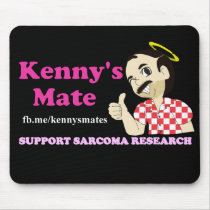 Kenny's Mate Sarcoma Research Support Mousepad