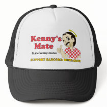 Kenny's Mate Sarcoma Research Support Trucker Cap