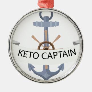 keno anchor metal ornament