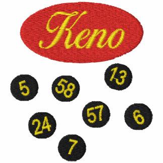 Keno Gambling Embroidered Shirt