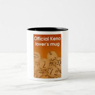 Keno Lover's two tone mug