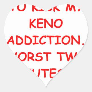 KENO HEART STICKER