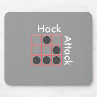 KenoNitro Pattern Monogramm Mousepad Invert