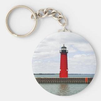 Kenosha Lighthouse Keychain