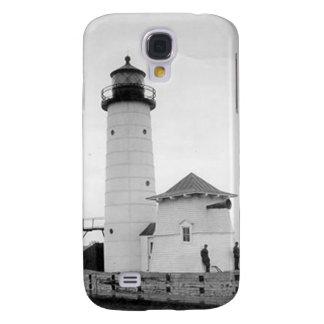 Kenosha North Pier Lighthouse Samsung Galaxy S4 Covers