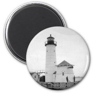 Kenosha North Pier Lighthouse Magnet