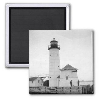 Kenosha North Pier Lighthouse Magnets