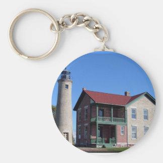 Kenosha Southport Lighthouse Keychain