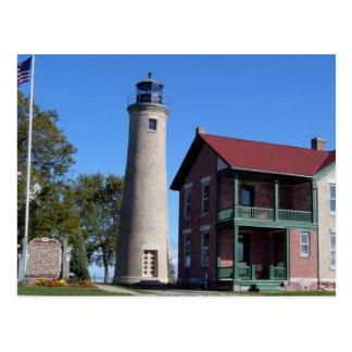 Kenosha Southport Lighthouse Postcard