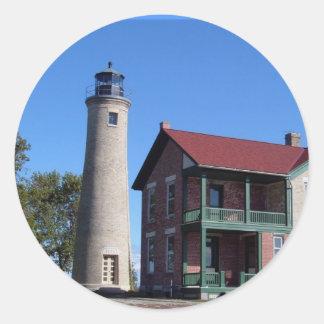 Kenosha Southport Lighthouse Sticker
