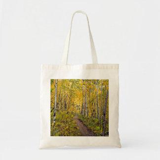 Kenosha to Breckenridge Trail Oil Painting Canvas Bags
