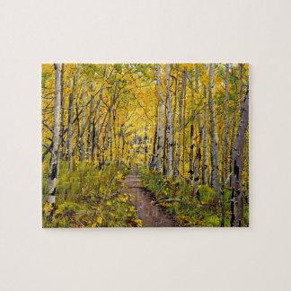 Kenosha to Breckenridge Trail Oil Painting Jigsaw Puzzle