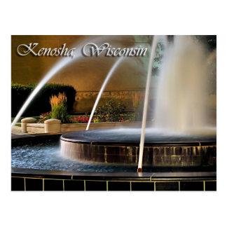 Kenosha, Wisconsin Postcard
