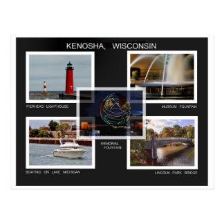 kENOSHA. WISCONSIN Postcard