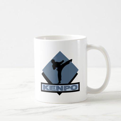 Kenpo bue diamond coffee mug