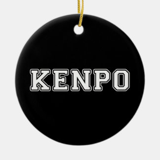 Kenpo Ceramic Ornament