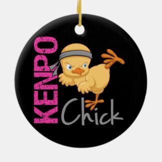 Kenpo Chick Christmas Tree Ornaments
