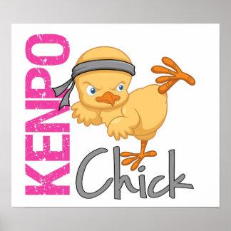 Kenpo Chick Print