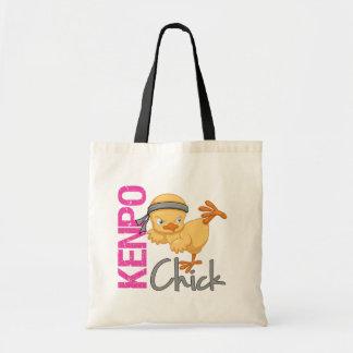 Kenpo Chick Tote Bag