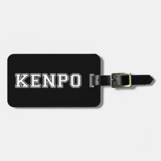 Kenpo Luggage Tag