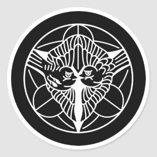 Kenshin Uesugi Classic Round Sticker