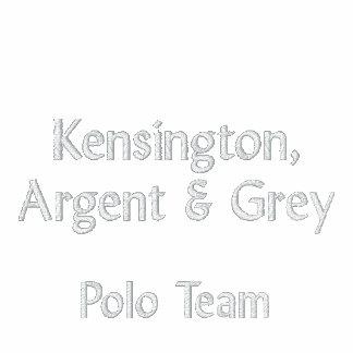 Kensington Argent Grey 2013 Polo Match Shirt