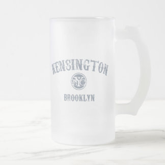Kensington Frosted Glass Beer Mug