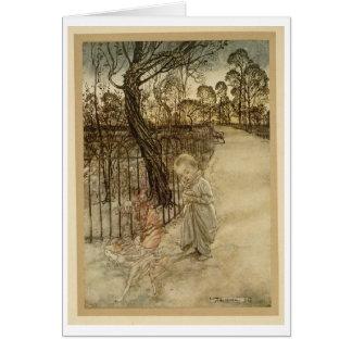 Kensington Gardens Walk (Blank Inside) Card