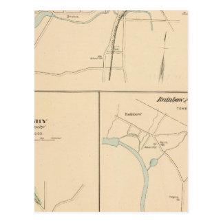 Kensington, Granby, arco iris, Poquonnock Postal