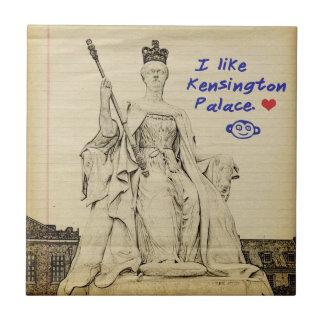Kensington Palace Child's Sketch Ceramic Tile