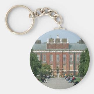 Kensington Palace Basic Round Button Keychain