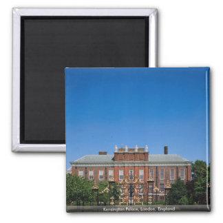 Kensington Palace, London, England 2 Inch Square Magnet