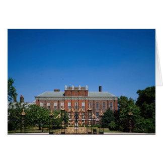 Kensington Palace, London, England Card