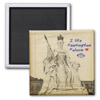 Kensington Palace Sketch 2 Inch Square Magnet