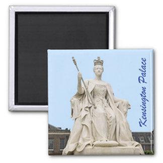 Kensington Palace's Queen Victoria Statue 2 Inch Square Magnet