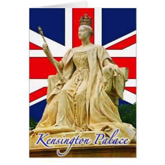 Kensington Palace's Queen Victoria Statue Card