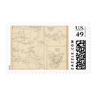Kensington, Rockingham Co Timbres Postales