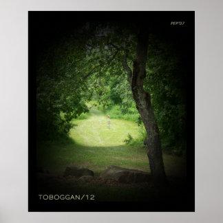 Kensington Toboggan #12 Poster
