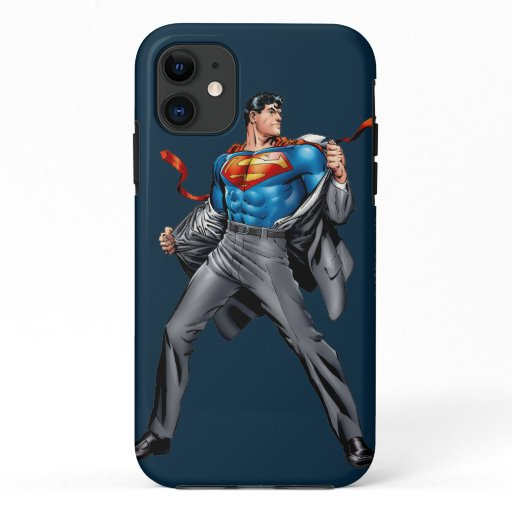 Kent changes into Superman iPhone 11 Case