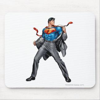 Kent changes into Superman Mouse Pad