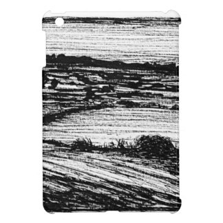 Kent Countryside. Hand Drawn by Russell Scott-Skin Case For The iPad Mini