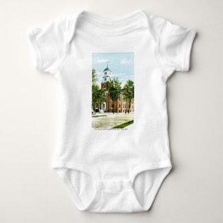 Kent County Court House, Dover, Delaware Baby Bodysuit