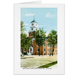Kent County Court House, Dover, Delaware Greeting Card