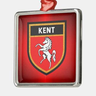 Kent Flag Metal Ornament